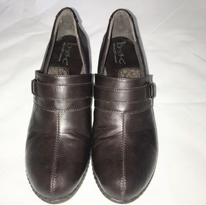 B.O.C Brown Booties, size 8